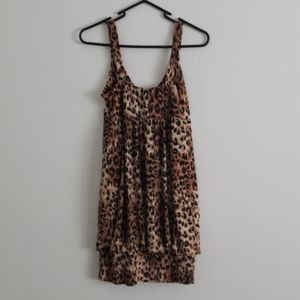 Charlotte Russe Dresses - Leopard Print Dress